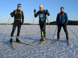 На лыжах по Вуоксе
